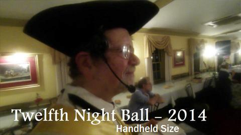 Twelfth Night Ball - Handheld size